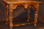 Oak, Walnut &Yew Wood Side Table c.1690