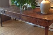 French antique farmhouse Oak country table