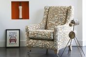 Accent Chair Linwood Art House Fabric