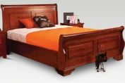 Pacific Sleigh Wooden Bedframe