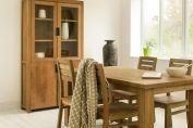 Bookcases > Mandala Teak Glazed Bookcase