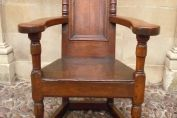 A Superb 17th Century Walnut Chair