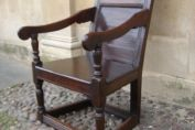 A 17th Century Oak Wainscot Chair