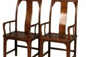 Continuous Yokeback Armchairs, Shanxi Province, late C19th/early C 20th