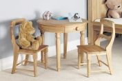 Amelie Oak Table and Chair Set