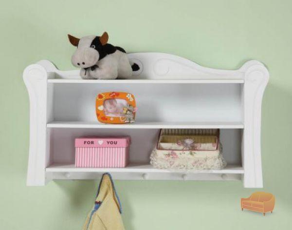 Childrens Kids 3 Tier Toy Bedroom Storage Shelf Unit 8: Shelves