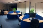 Blue Office Desks