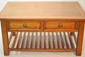 Mango Wood Harapan Large Coffee Table with 2 Drawers