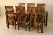 Dining sets > Tuscany Solid wood Large Dining Set (Table + 6 Chairs)