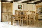 Oak Dining Suite with Bench