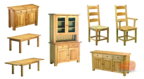 Dining Sets Tuscany Solid Wood Large Dining Set Table 6 Chairs: Dining Sets, Page 3