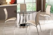 Cosmo Glass Dining Table Round (Table only)