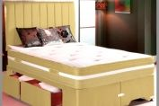 Canterbury 4ft Small Double Divan Bed