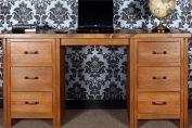 Cargo Wood Desk / Dressing Table