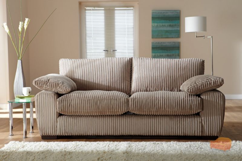 Fabric sofas for Cord sofa 70er