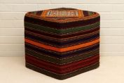 TRIBAL SQUARE STOOL