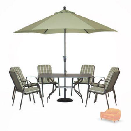 Welbeck 6 seater Garden Furniture Set. Wyevale Garden Centres