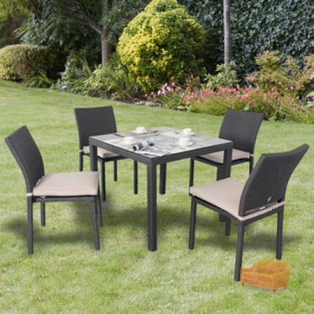Provence Casual 4 Seater Dining Garden Furniture Set Read more  http   www. Wyevale Garden Centres