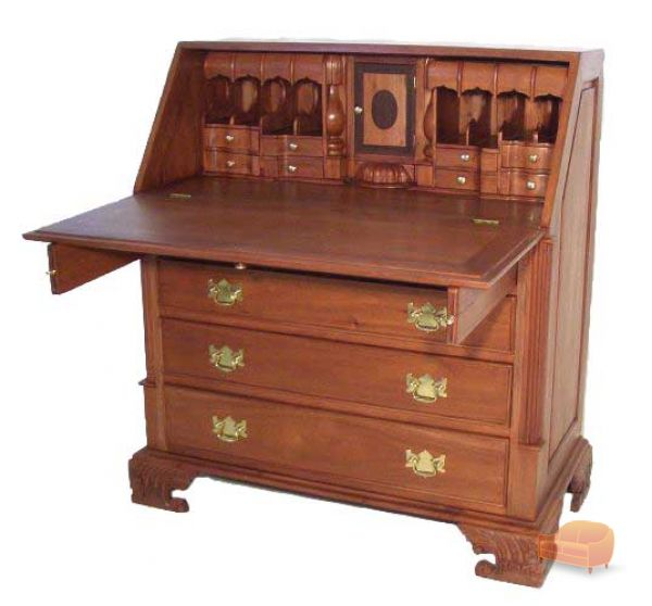 antique mahogany large home office unit. george iii style large mahogany drop leaf bureau antique home office unit i