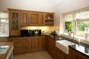 Solid Oak- Croft and Painted Kitchen