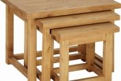 Chunky Pine Nest of Tables