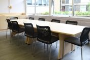 Bespoke Conference table and cupboard KR02