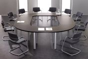 Circle Conference Table