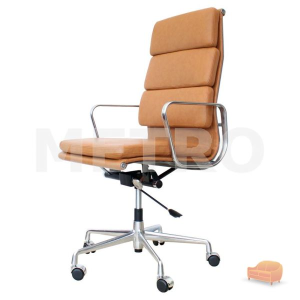 eames high back soft pad office chair ea219