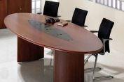 Fulcrum oval conference table