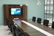 ACT 'Cirrus' Curved Rectangular Boardroom Table