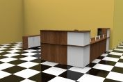 436C Classic reception desk