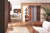 Living room sliding doors system