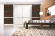 Wardrobe with sliding door