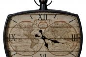 Mapping the World Wall Clock